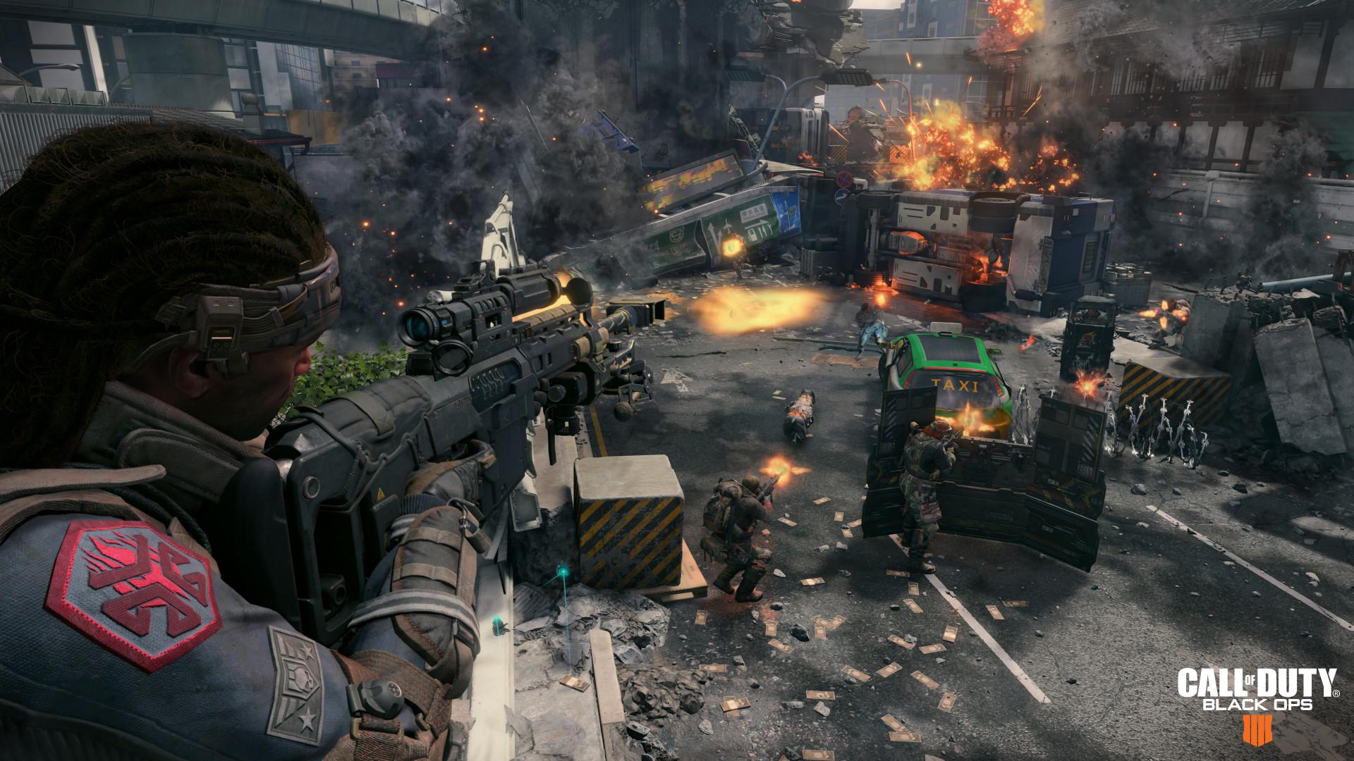 Новый геймплей «королевской битвы» в Call of Duty: Black Ops 4