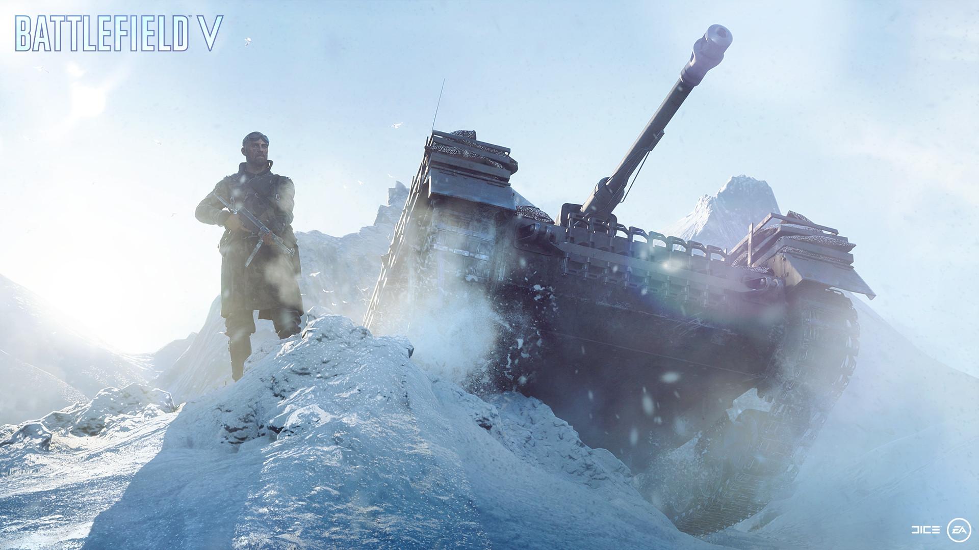 Как Battlefield 5 работает на бюджетном компьютере — геймплей на минималках