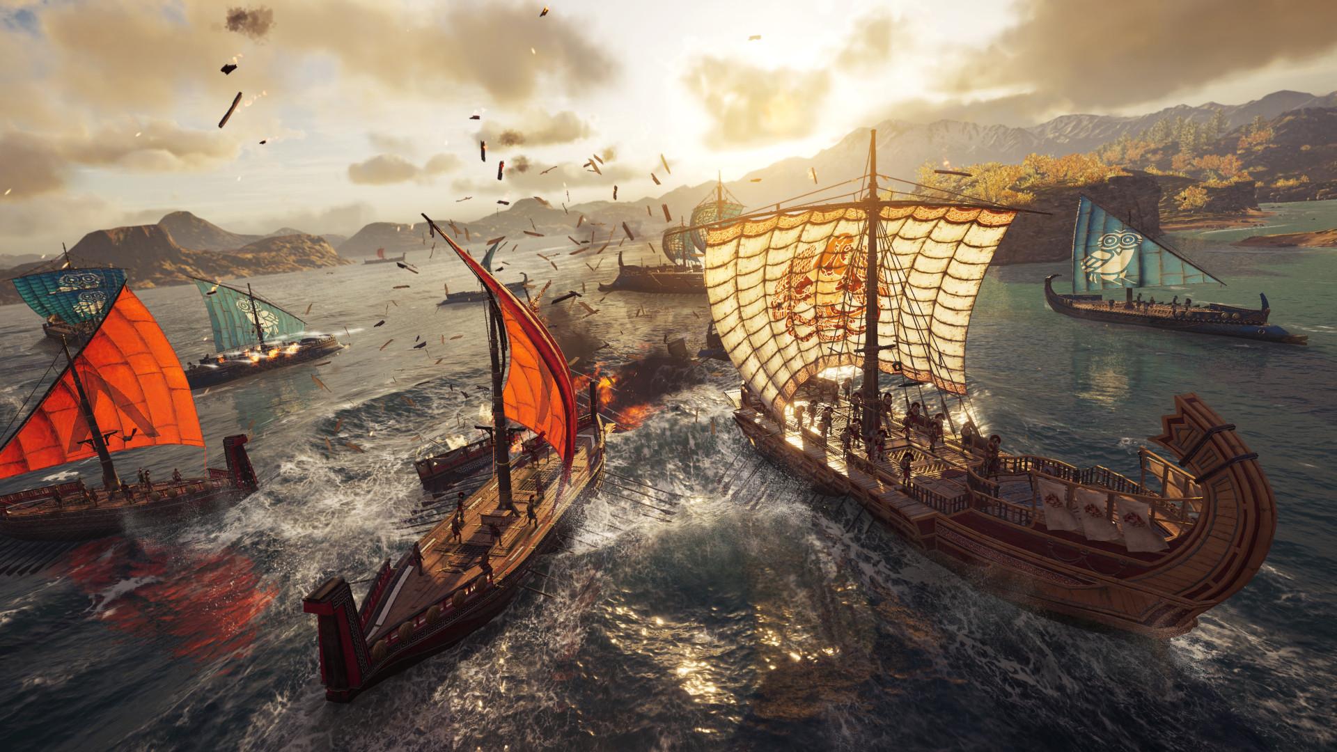 Графику Assassin's Creed Odyssey сравнили на PS4 Pro и PC