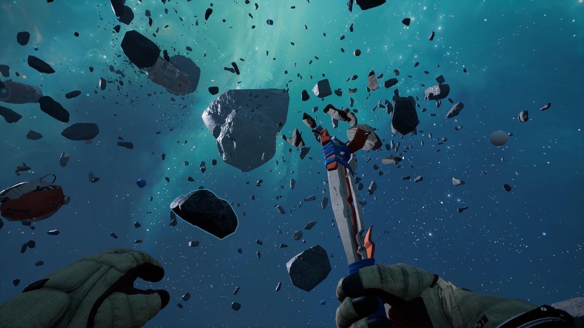 В Steam вышел Breathedge — выживастик с летающими трупами, крафтом из презервативов и бессмертной курицей. И все это в космосе!