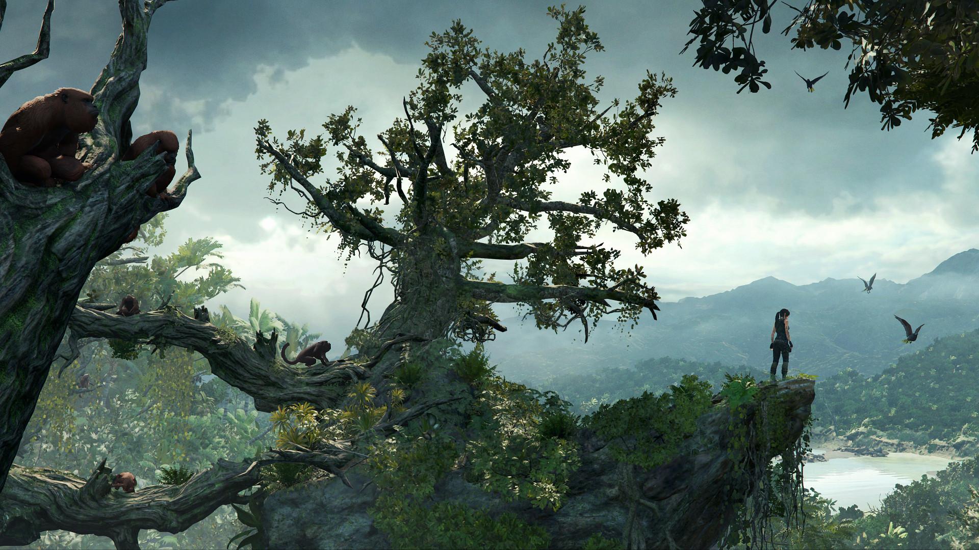 Отличие графики в Shadow of the Tomb Raider на PC, PS4 и Xbox One