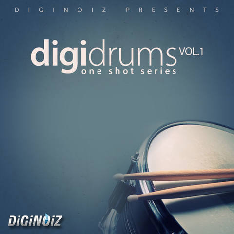 Diginoiz - DigiDrums Vol.1 (AIFF, REFILL, WAV)