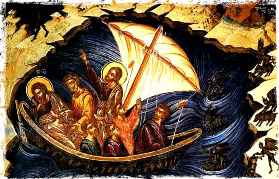 ქარიშხლის დამორჩილება გალილეის ზღვაზე