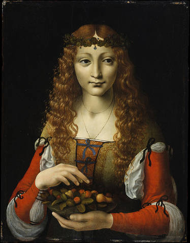 Giovanni-Antonio-Boltraffio-Girl-with-Cherries-also-attributed-to-Giovanni-Ambrogio-de-Predis-1495
