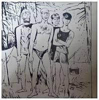 Страницы книги Виктора Астафьева Царь- рыба(7)