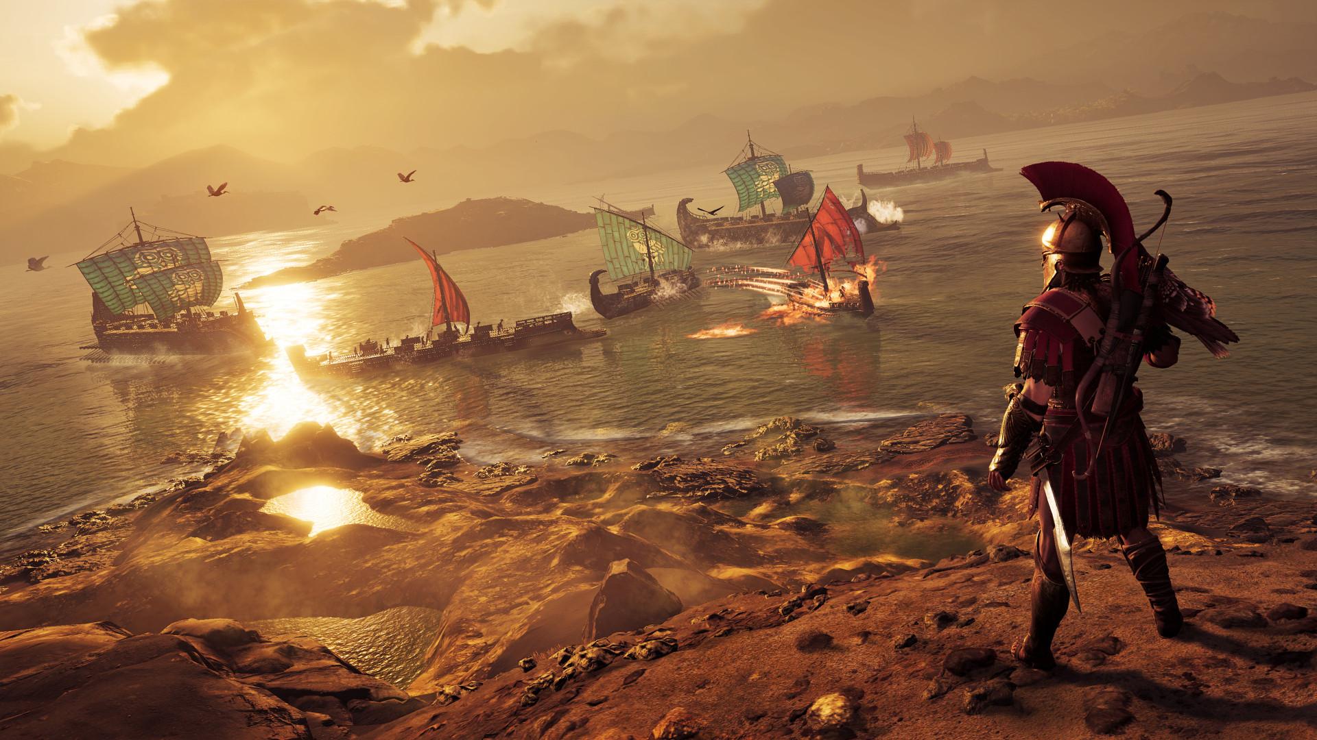 Карту из Assassin's Creed Odyssey сравнили с реальной картой Греции