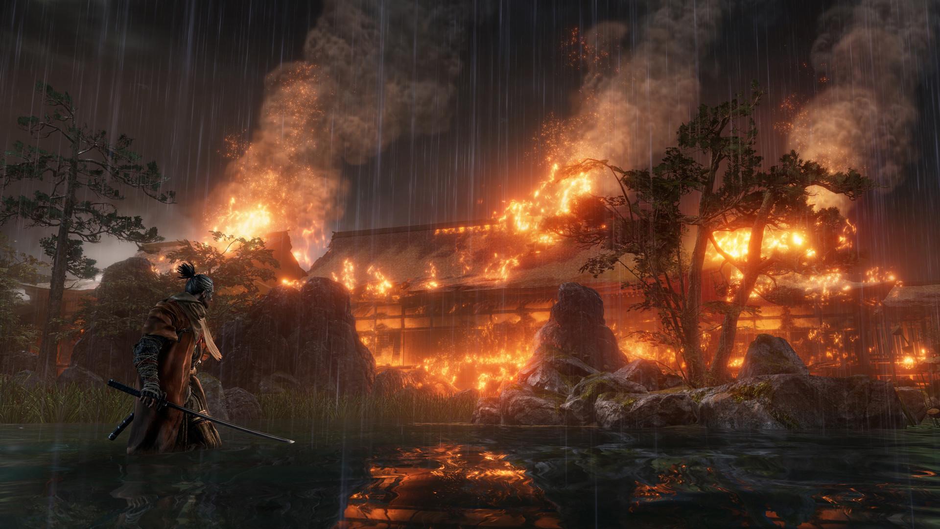 Сюжет в Sekiro: Shadows Die Twice будет намного понятнее, чем в Dark Souls