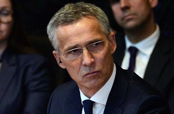 Йенс Столтенберг, НАТО, Сербия