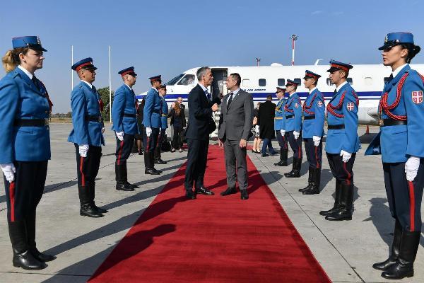Сербия, Белград, НАТО, Столтенберг