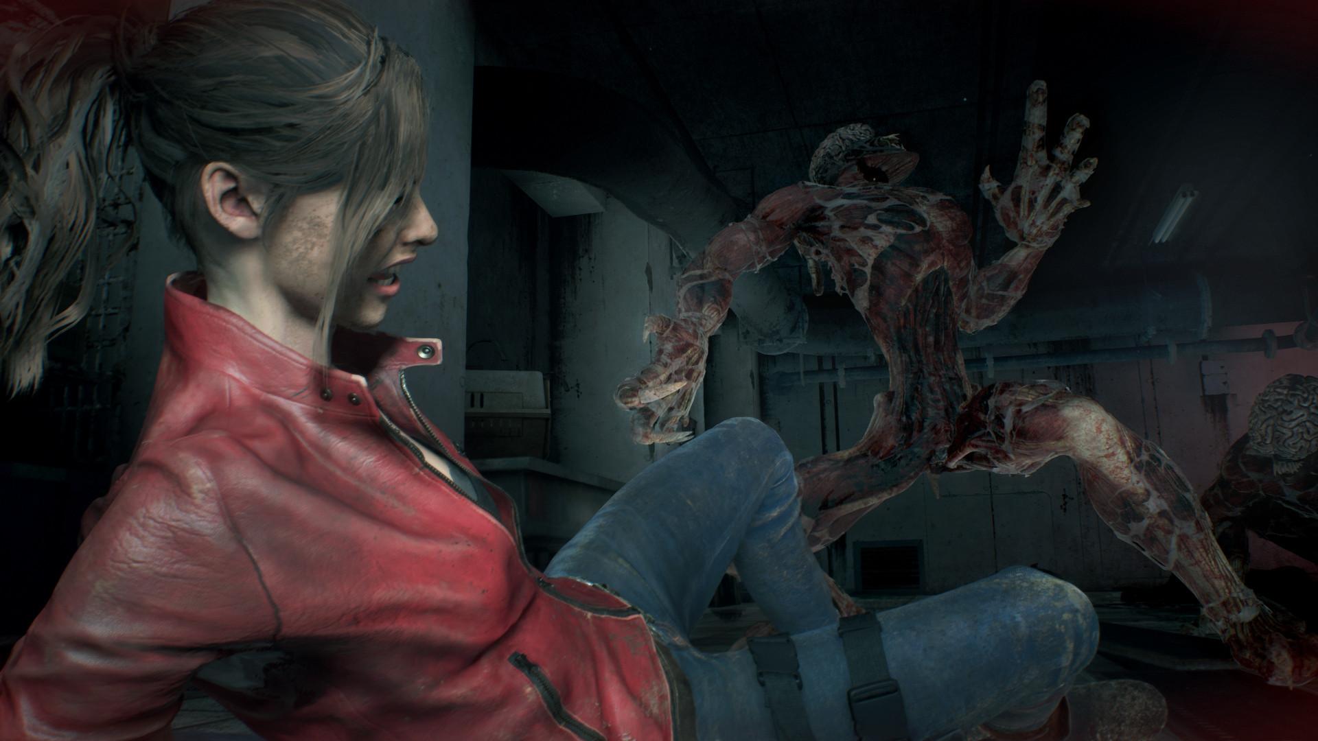 Ремейк Resident Evil 2 будет похож на черно-белые детективы 40-ых