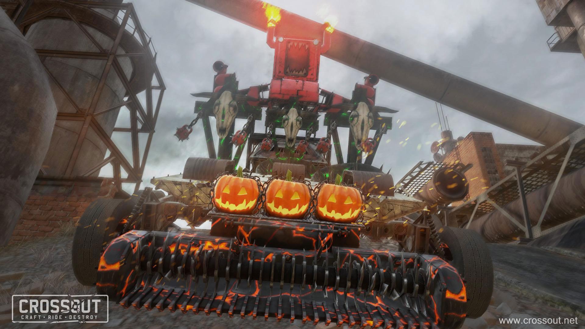 В Crossout стартовал хэллоуинский ивент с новыми предметами, миссиями и наградами