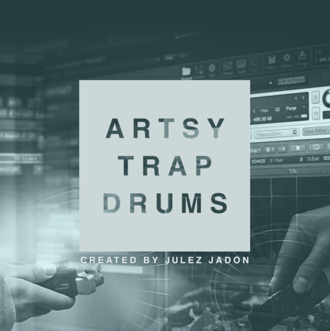 The Producers Choice - Artsy Trap Drum Kit (WAV)