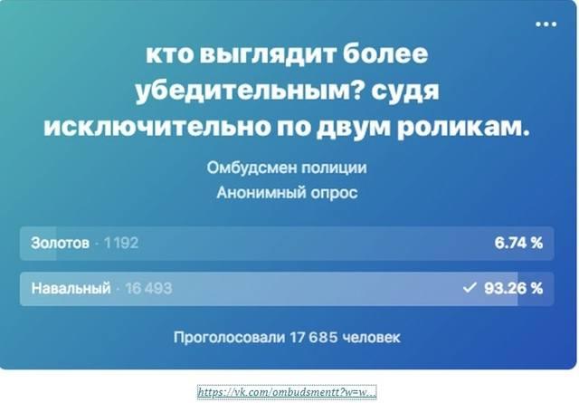 скрин с сайта навального