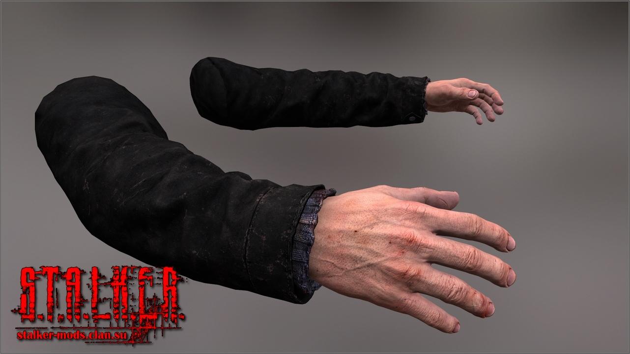 Модели рук из игры ЕФТ