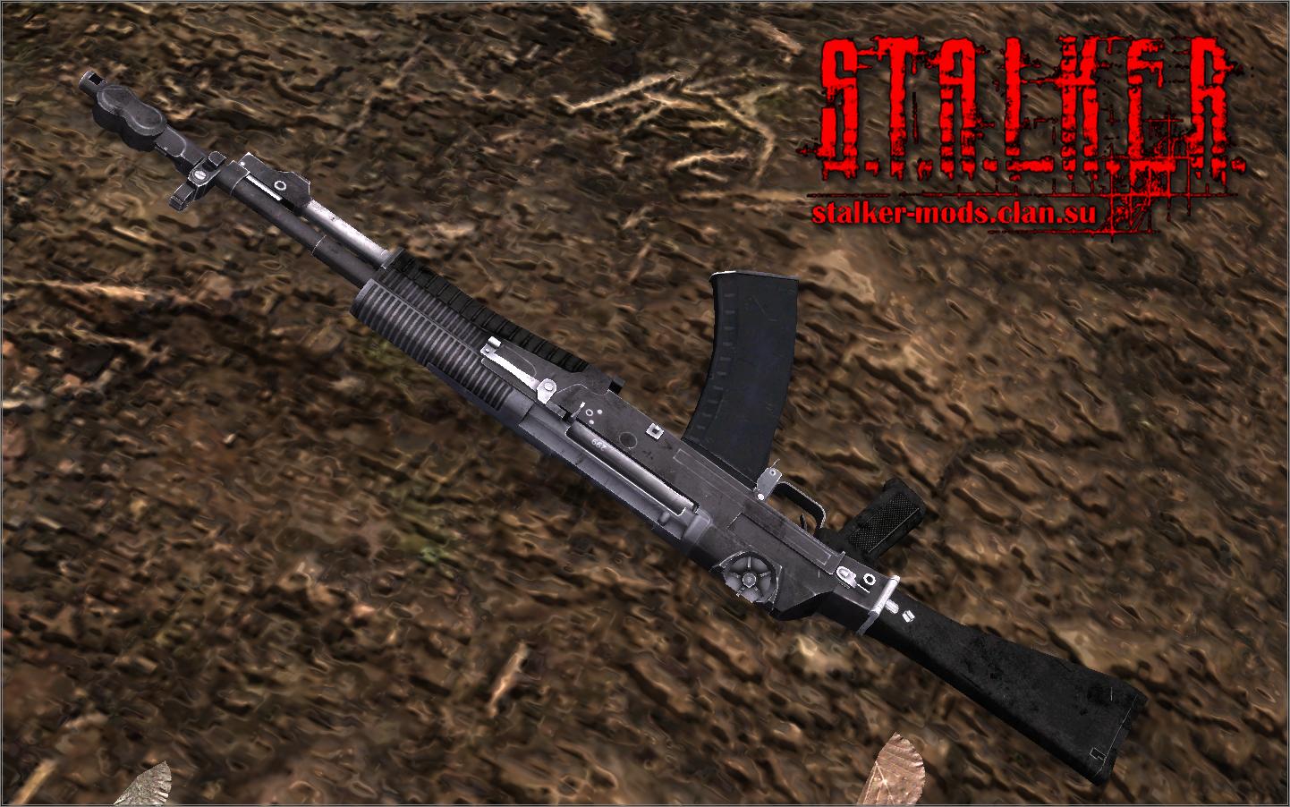 АН-94 из игры Battlefield