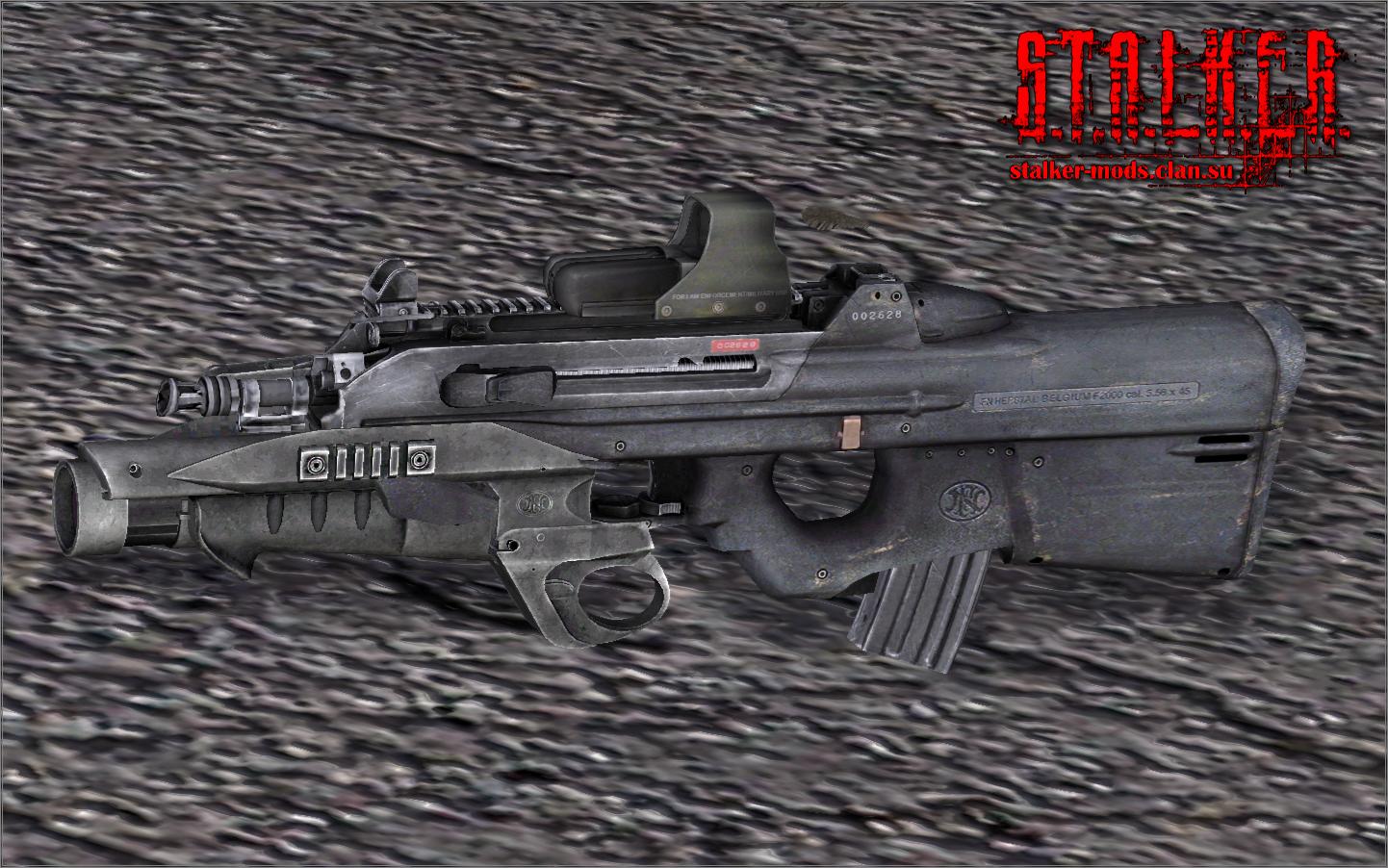 Модель оружия - FN-2000