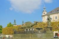 Площадь Дракона в Клангенфурте. Фото Морошкина В.В.