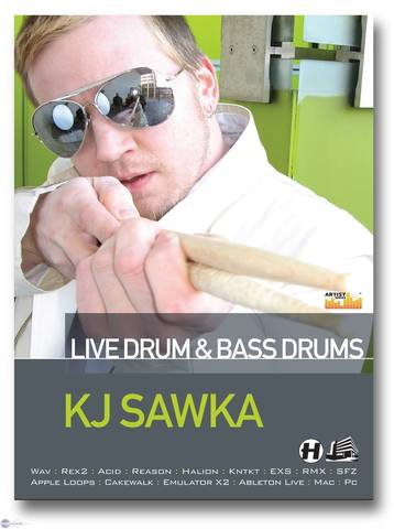 Loopmasters - KJ Sawka Live Drum and Bass Drums MULTiFORMAT