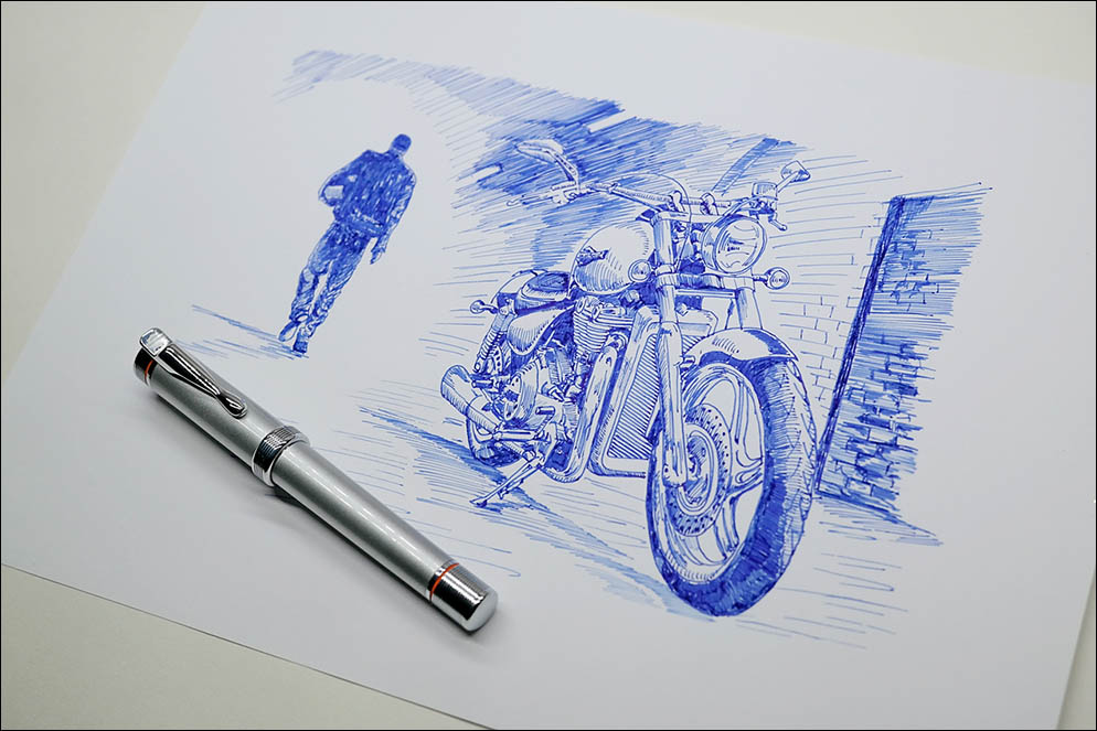 Harley Davidson by Stypen (France)