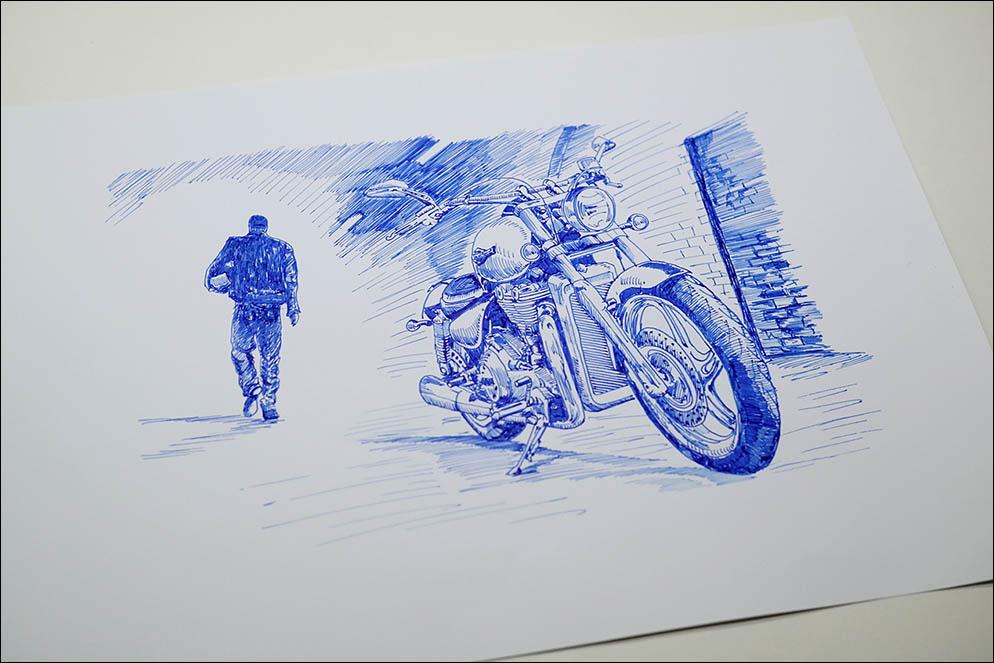 Harley Davidson by Stypen Lenskiy.org