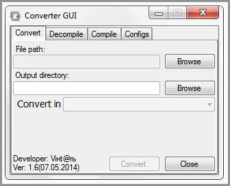 GUI for Converter 1.6