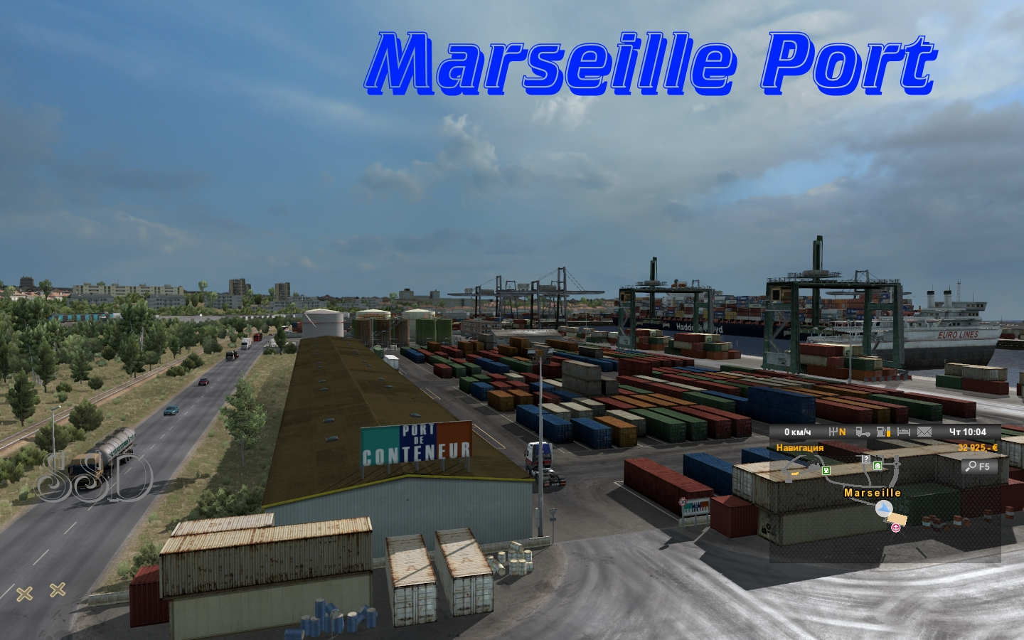 Port Marseille MHAPro map