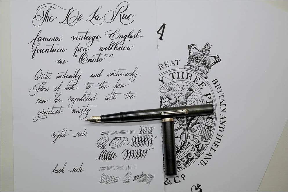 The De La Rue Pen. Lenskiy.org