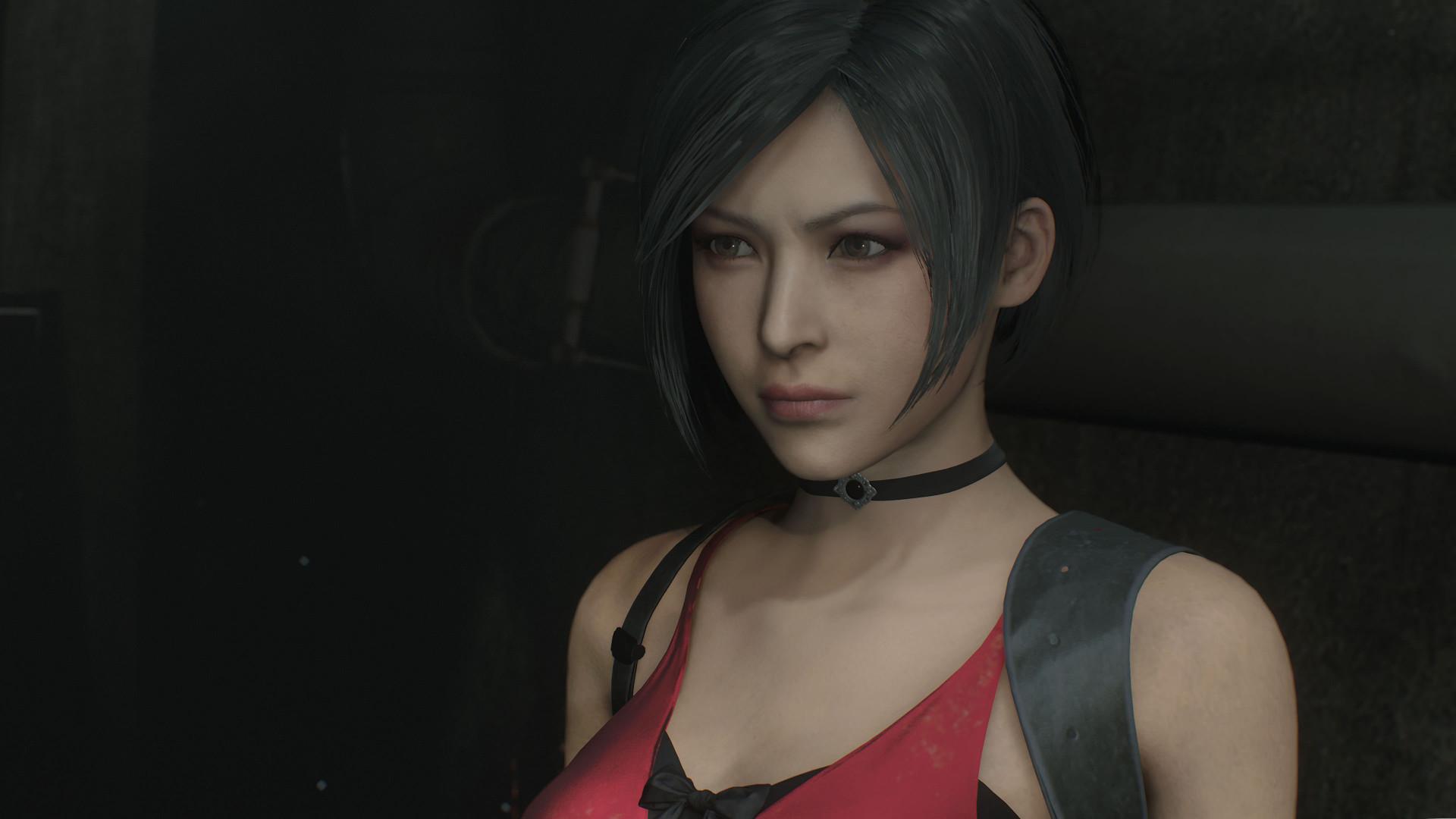 В сеть слили новые скриншоты Resident Evil 2 Remake с Адой Вонг в красном платье