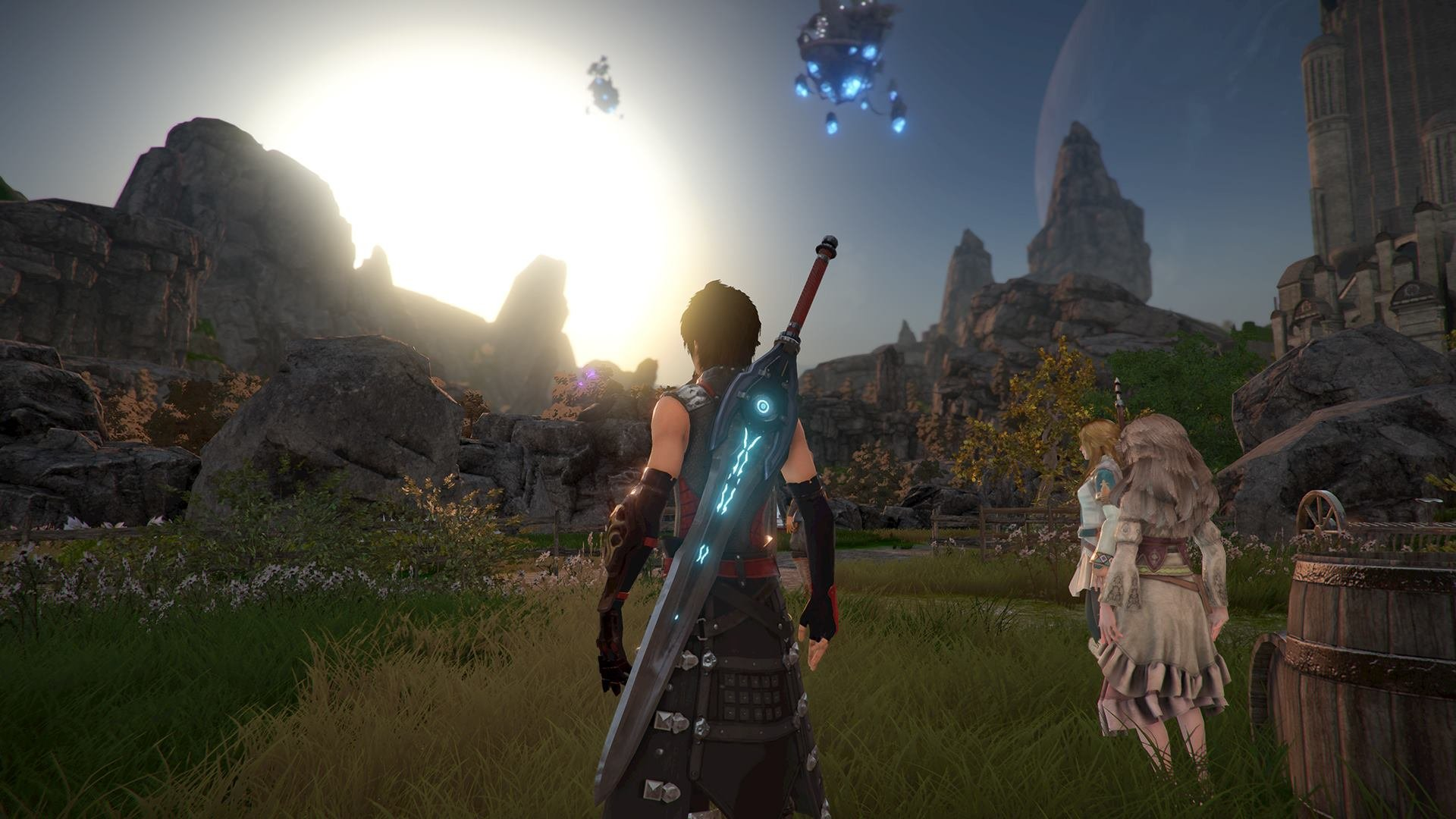 Почти как Final Fantasy, только от фанатов. В Steam выпустили игру Edge Of Eternity в стиле японских RPG