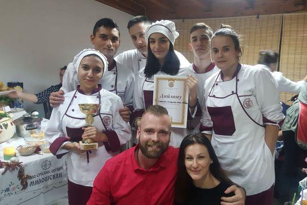 Новые успехи юных поваров из Пожареваца