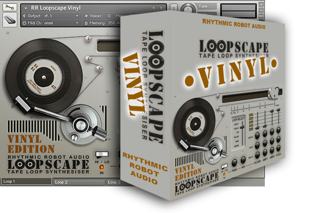 Rhythmic Robot Audio - Loopscape Vinyl (KONTAKT)