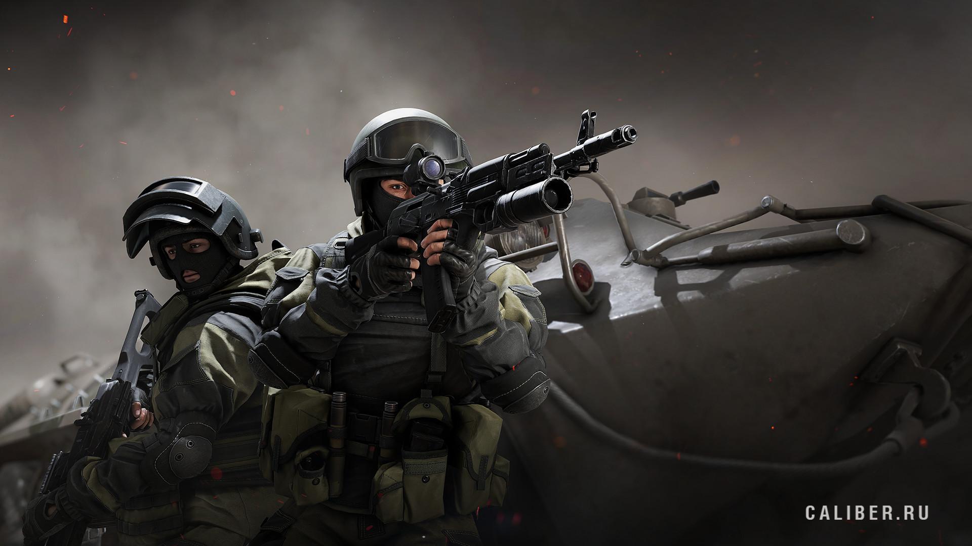 Wargaming рассказала, как тактический шутер «Калибр» изменился за год