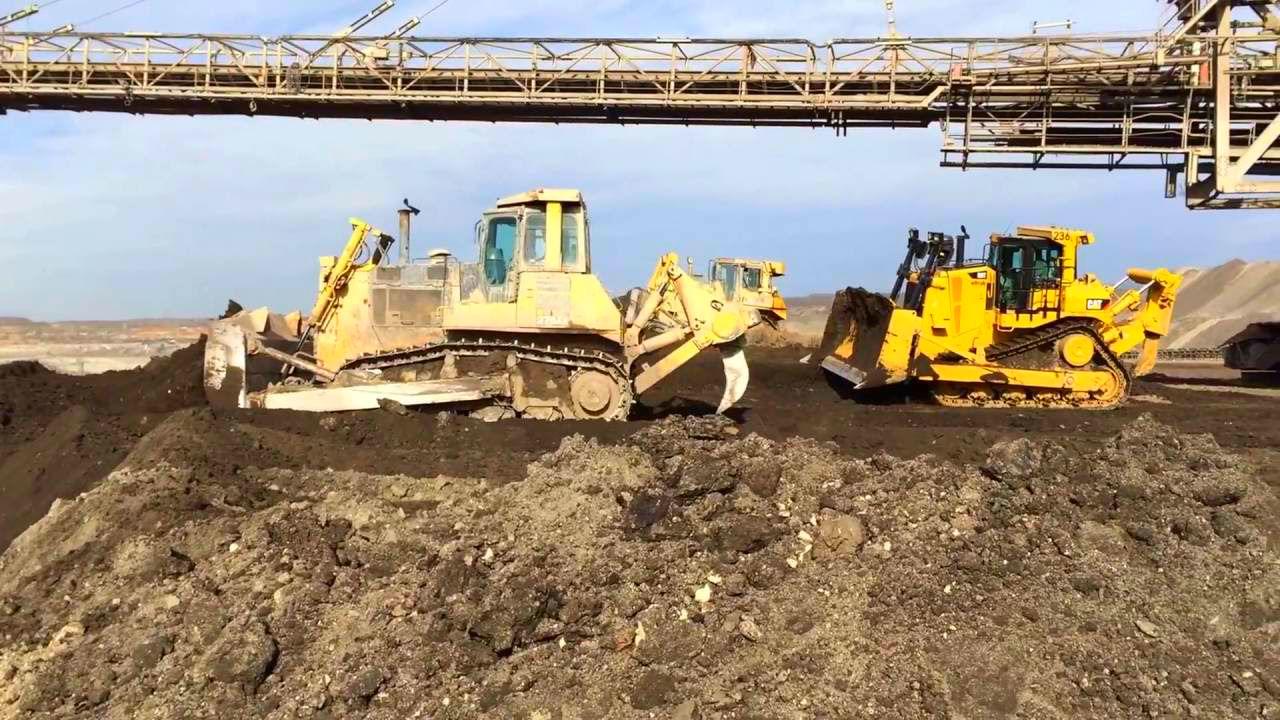 Komarsu и Caterpillar - основные поставщики бульдозеров в Россию