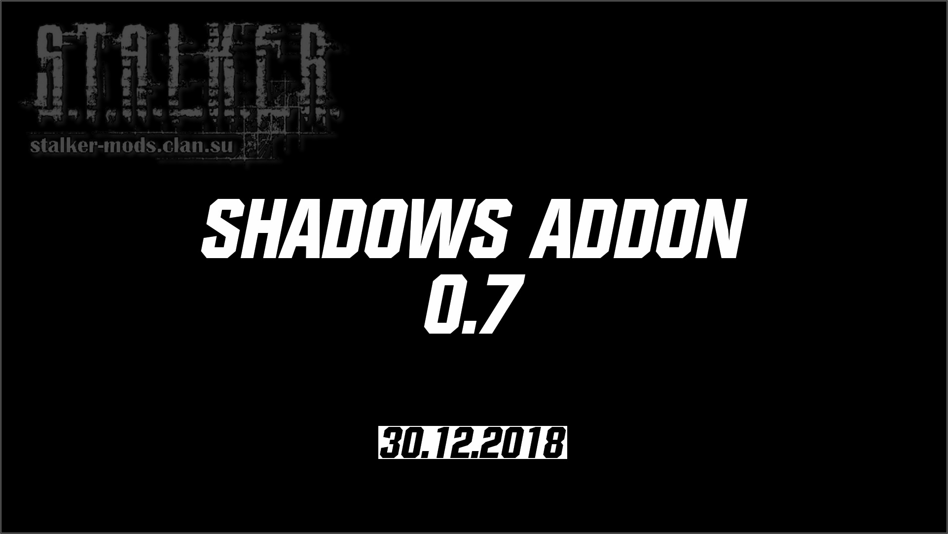 Shadows Addon 0.7