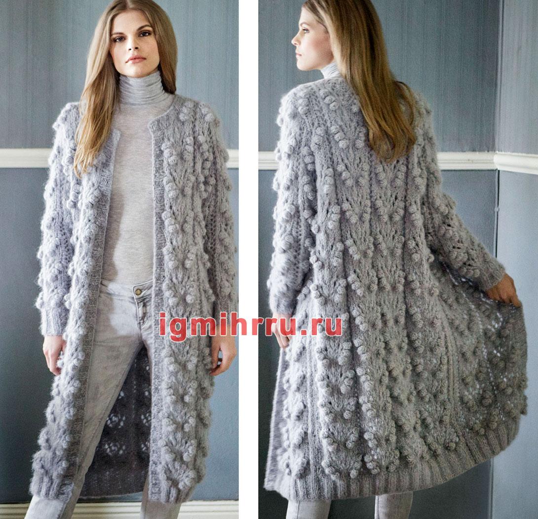 вязаное пальто спицами записи с меткой вязаное пальто спицами
