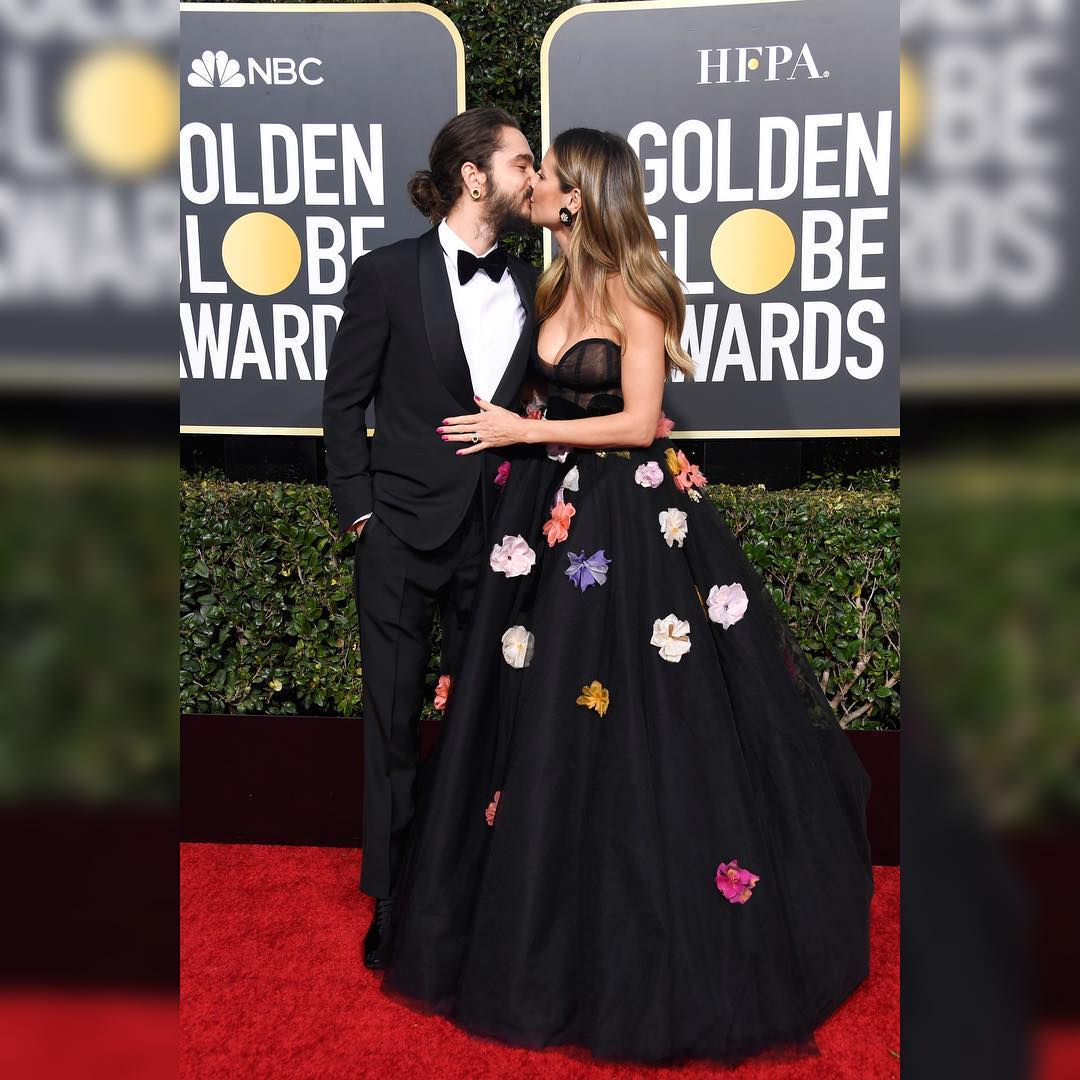 06.01.19 - Tom and Heidi at Golden Globes, The Beverly Hilton, LA