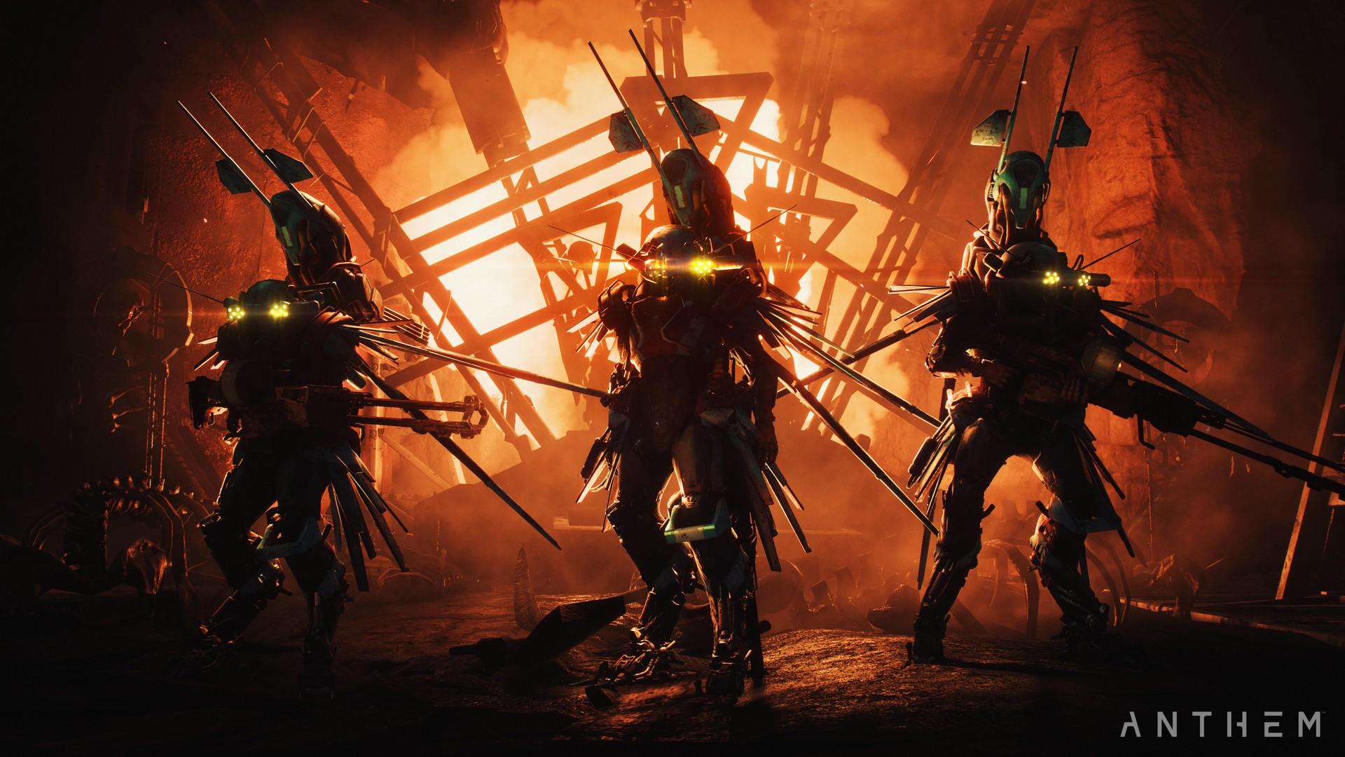 Nvidia показала новый геймплей Anthem в 4K с улучшенным сглаживанием