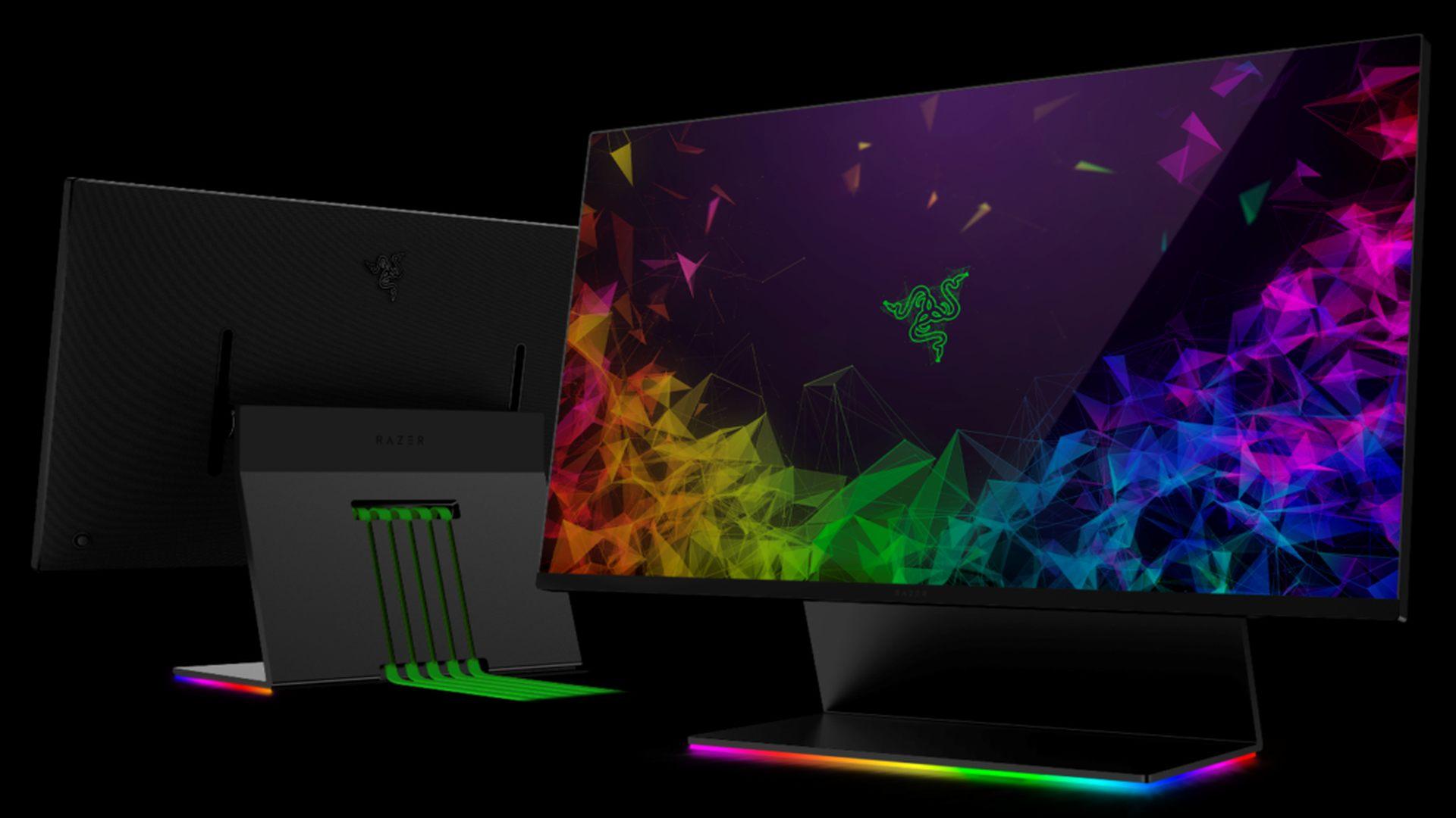 Razer анонсировала игровой монитор с подсветкой