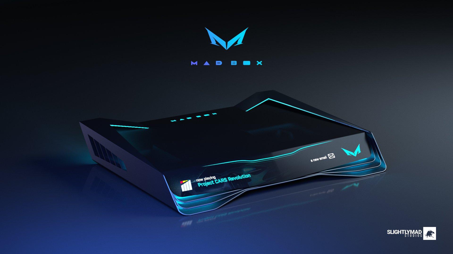 Утвержден дизайн «самой мощной консоли» Mad Box — выглядит футуристично