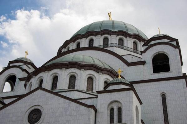 Сербия, Белград, храм св.Саввы