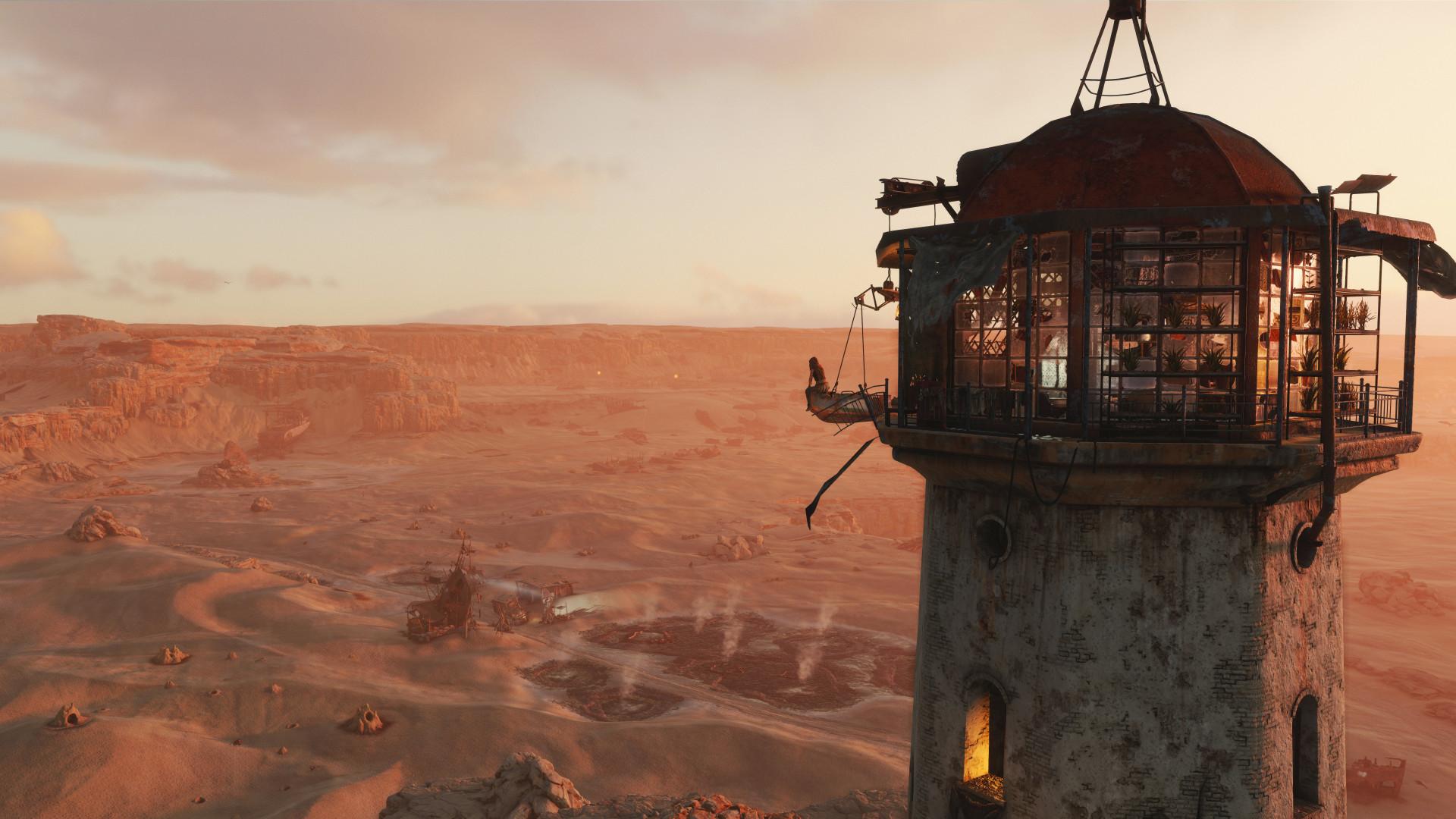 Новый геймплей и скриншоты Metro Exodus показывают пустыню в духе «Безумного Макса»