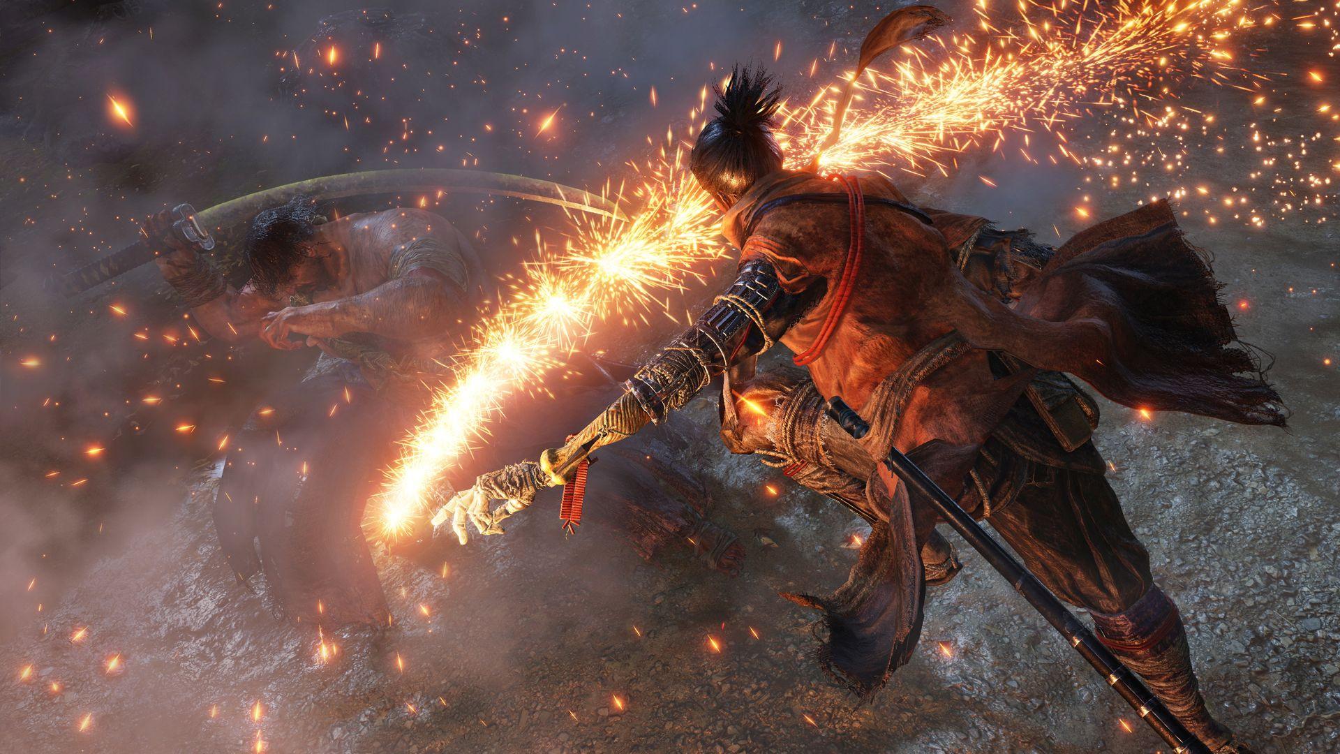 В новом геймплее Sekiro: Shadows Die Twice объяснили отличие боевой системы от Dark Souls и Bloodborne