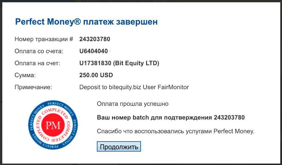 Bit Equity - bitequity.biz 25018605