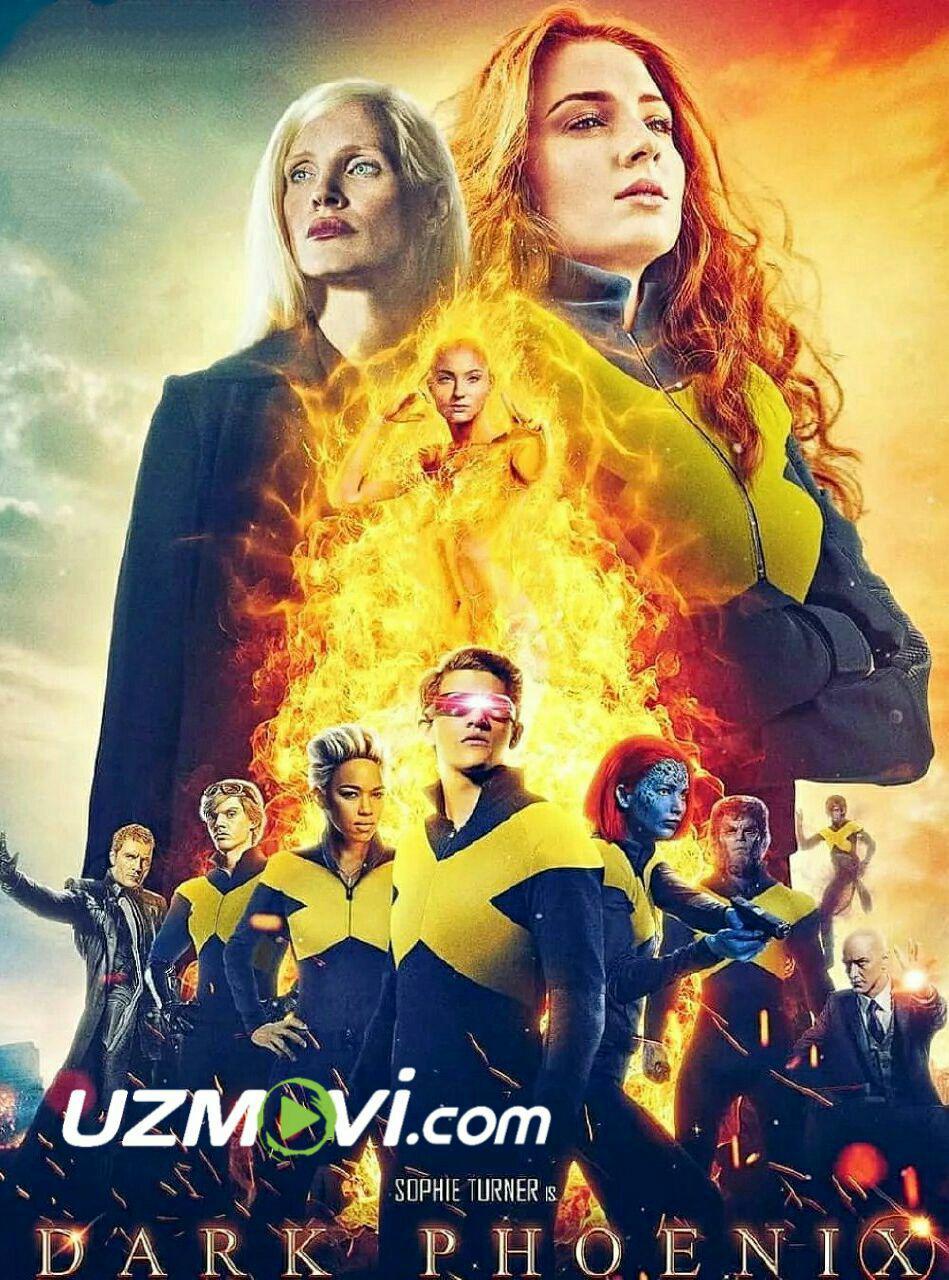 X-men G'aroyib Odamlar: Qora qaqnus / люди икс тёмный феникс 2019