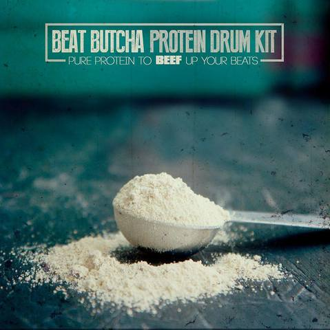 Beat Butcha - Pure Protein Drum Kit Vol.1-6 (WAV)