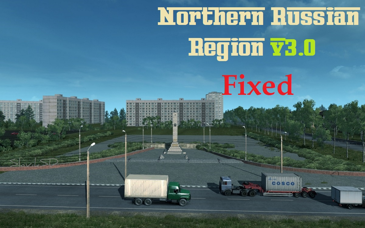 Fixed Northen Russian Region v3.0