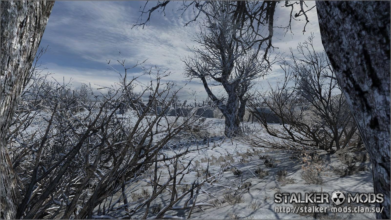 зимние текстуры сталкер