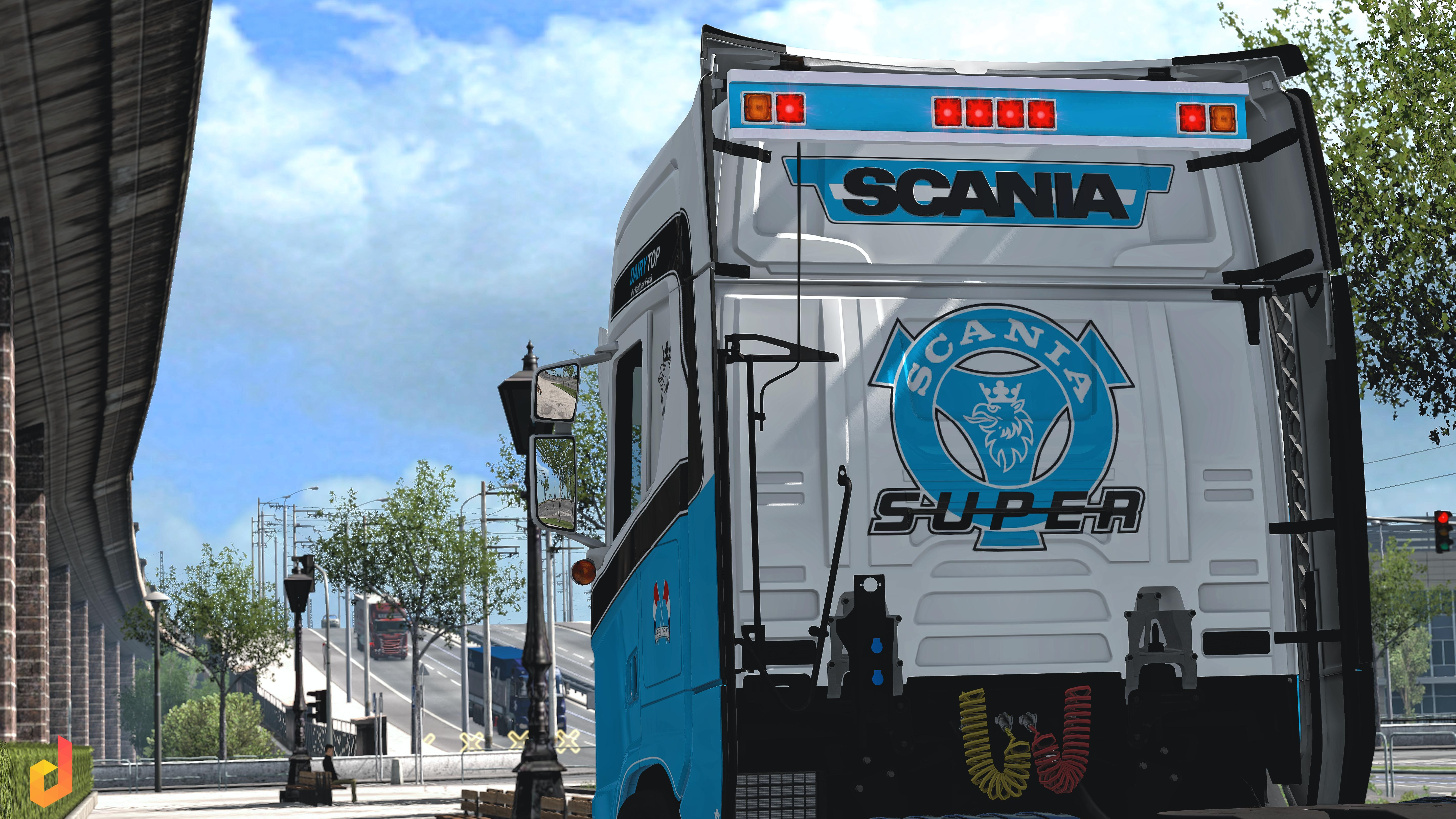 Pack BackPlate Scania S&R 2016 v1.0