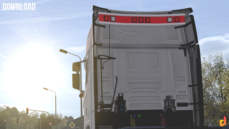 Pack BackPlate Scania S&R 2016 v1.0