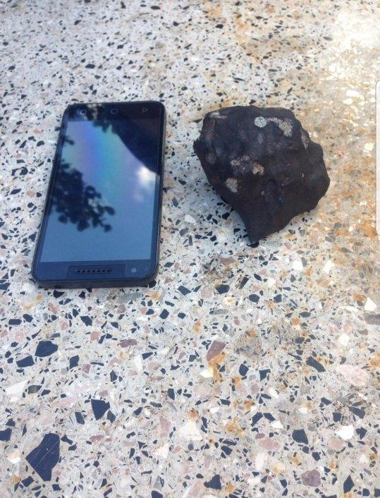 На Кубу свалился небольшой метеорит